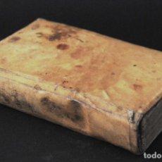 Libros antiguos: LIBRO EN PERGAMINO - VIDA Y MILAGROS DEL GLORIOSO SAN ANTONIO DE PADUA, AÑO 1759. Lote 202905243
