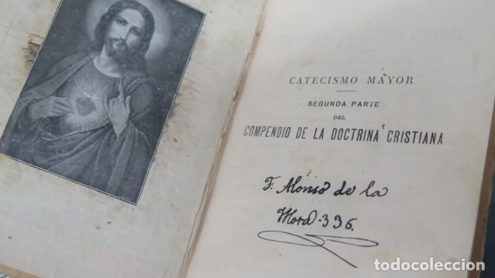 Libros antiguos: 1927.- CATECISMO MAYOR. PRESCRITO POR S.S. PIO X - Foto 2 - 202991921