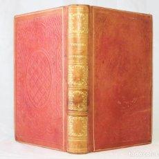 Libros antiguos: CONFERENCIAS SOBRE LA PASIÓN DE NUESTRO SEÑOR JESUCRISTO. VENTURA DE RAULICA. 1855. LUJOSA ENCUADERN. Lote 203296400