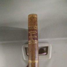 Libros antiguos: 1881. HOMILÍAS BREVES Y POPULARES SOBRE LOS EVANGELIOS - PADRE J. B. CENTURIONE. Lote 203320090