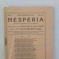 Libros antiguos: HESPERIA - TEOSOFICA Y POLIGRAFICA - 1925 Nº 40-41 - MASONERIA - EL CELEBRE TEMPLO DE SOMNATH-PATAN. Lote 204268637