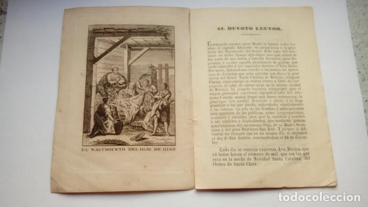 Libros antiguos: PREPARACION ESPIRITUAL AL SACRATISIMO PARTO DE MARIA Y BENDITO NACIMIENTO DE JESUS 1859 - Foto 2 - 204819773