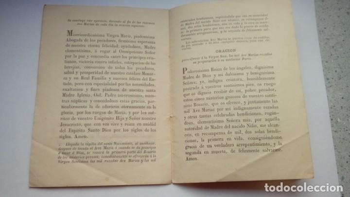 Libros antiguos: PREPARACION ESPIRITUAL AL SACRATISIMO PARTO DE MARIA Y BENDITO NACIMIENTO DE JESUS 1859 - Foto 3 - 204819773