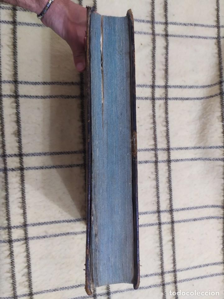 Libros antiguos: 1790. Summa S. Thomae sive cursus theologiae. Fr. Caroli Renati Billuart. Folio. Piel. - Foto 11 - 205819202