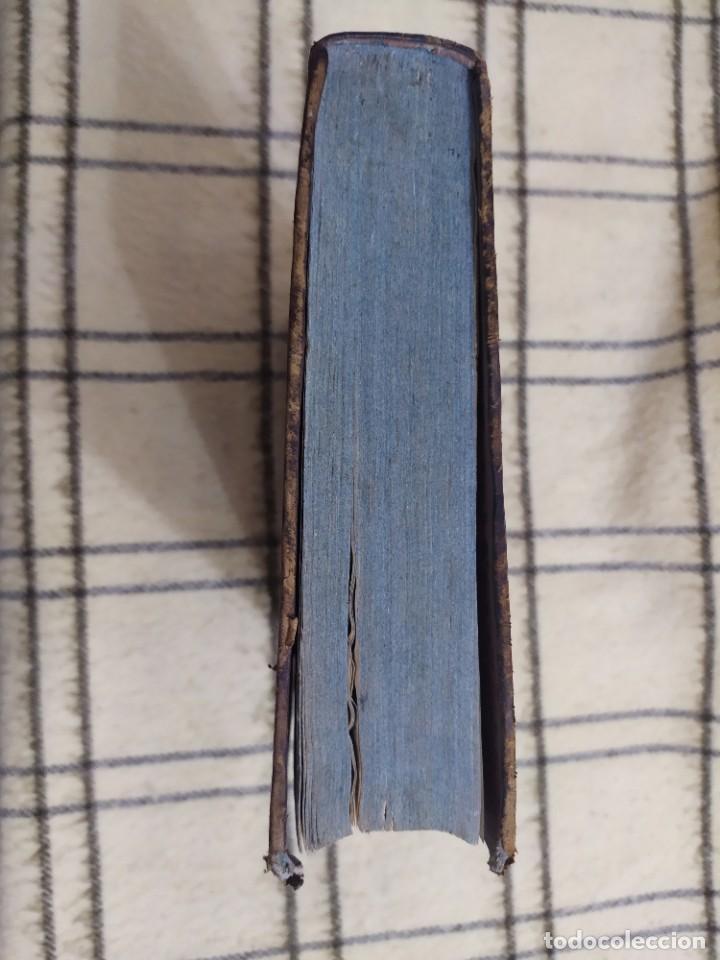 Libros antiguos: 1790. Summa S. Thomae sive cursus theologiae. Fr. Caroli Renati Billuart. Folio. Piel. - Foto 12 - 205819202