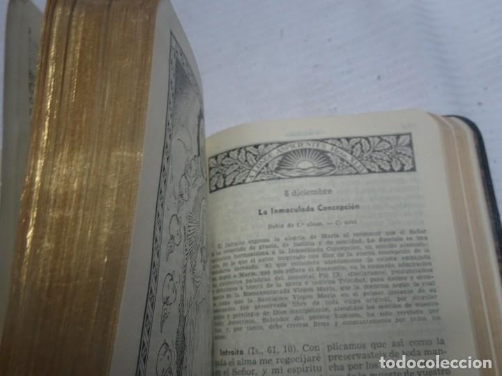 Libros antiguos: MISAL COTIDIANO DE LOS FIELES, P. ALFONSO Mª GUBIANAS O.S.B. 1943 BARCELONA, VER FOTOS - Foto 7 - 205831048
