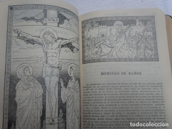 Libros antiguos: MISAL COTIDIANO DE LOS FIELES, P. ALFONSO Mª GUBIANAS O.S.B. 1943 BARCELONA, VER FOTOS - Foto 12 - 205831048