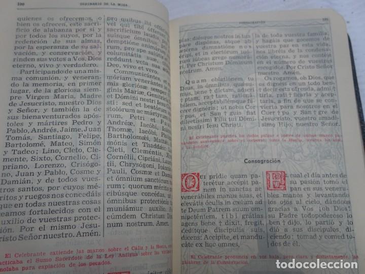 Libros antiguos: MISAL COTIDIANO DE LOS FIELES, P. ALFONSO Mª GUBIANAS O.S.B. 1943 BARCELONA, VER FOTOS - Foto 13 - 205831048