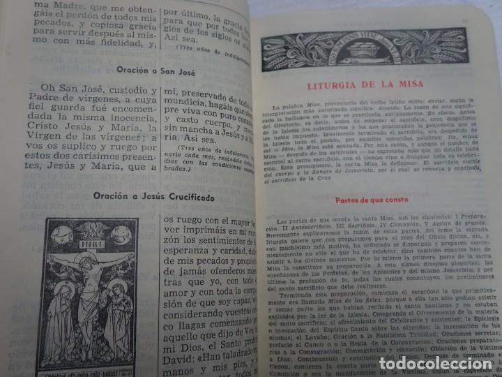 Libros antiguos: MISAL COTIDIANO DE LOS FIELES, P. ALFONSO Mª GUBIANAS O.S.B. 1943 BARCELONA, VER FOTOS - Foto 14 - 205831048