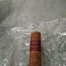 Libros antiguos: 1883.EJERCICIOS DE PERFECCIÓN Y VIRTUDES CRISTIANAS.TOMO III Y IV- PADRE ALONSO RODRÍGUEZ.PLENA PIEL. Lote 205875395
