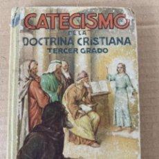 Libros antiguos: CATECISMO DE LA DOCTRINA CRISTIANA. Lote 206956647