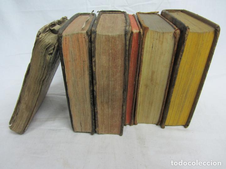 Libros antiguos: 6 Libros para decoración o atrezzo de temática religiosa. s.XIX - Foto 3 - 206975688