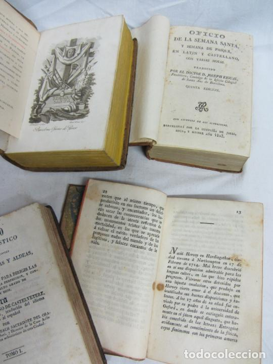Libros antiguos: 6 Libros para decoración o atrezzo de temática religiosa. s.XIX - Foto 6 - 206975688