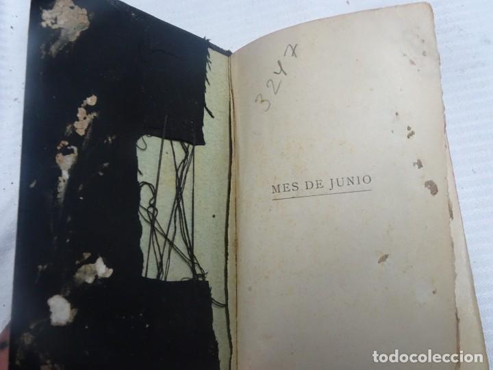 Libros antiguos: ANTIGUO LIBRO, MES DE JUNIO DEDICADO AL SAGRADO CORAZON DE JESUS ,1911 , VER FOTOS - Foto 4 - 207000358
