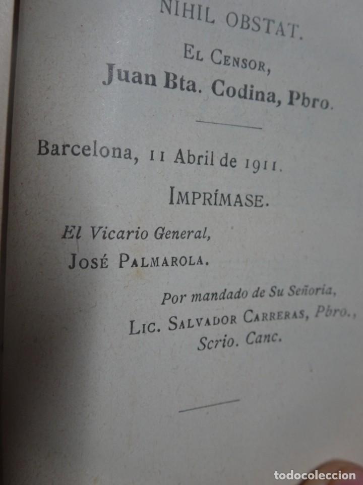 Libros antiguos: ANTIGUO LIBRO, MES DE JUNIO DEDICADO AL SAGRADO CORAZON DE JESUS ,1911 , VER FOTOS - Foto 7 - 207000358