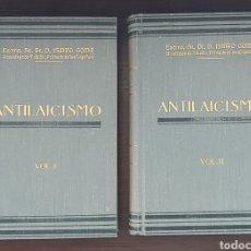 Livres anciens: ANTILAICISMO. (OBRA COMPLETA-2 TOMOS) D. ISIDRO GOMÁ TOMÁS, 1935. Lote 207064743