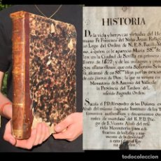 Libros antiguos: 1692 - MANUSCRITO SOBRE LA APARICIÓN DE LA VIRGEN EN LA CIUDAD DE SEVILLA FRANCISCO DEL NIÑO JESUS. Lote 207064932