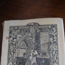 Libros antiguos: DOCE ESTAMPAS CARTUJANAS ANTONIO GONZÁLEZ 1943 PRPM. Lote 207168912