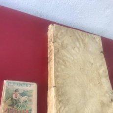 Libros antiguos: HOUDRY BIBLIOTECA VICENTII E SOCIETATE JESU. TIPOGRAFÍA REMONDIANA. PERGAMINO. 1764.. Lote 207262432