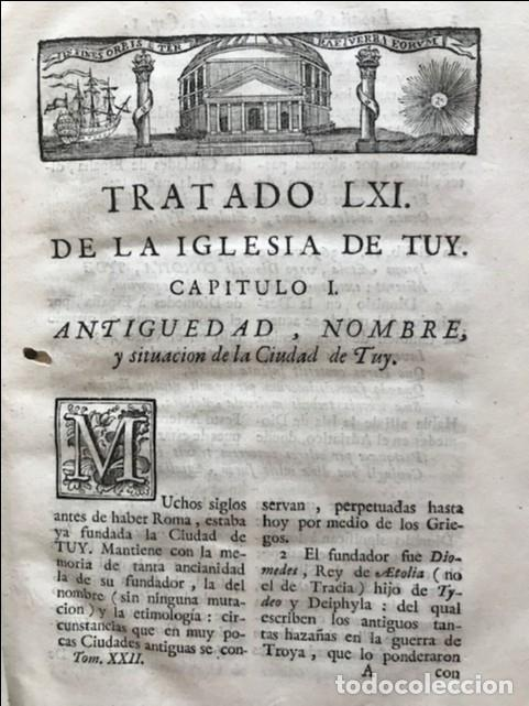 Libros antiguos: España sagrada, Theatro geopháfico-histórico,..Tomo XXII. Henrique Flórez - Foto 14 - 208042623