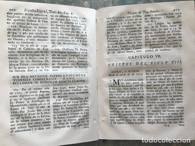 Libros antiguos: España sagrada, Theatro geopháfico-histórico,..Tomo XXII. Henrique Flórez - Foto 17 - 208042623