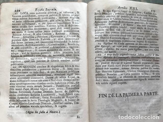Libros antiguos: España sagrada, Theatro geopháfico-histórico,..Tomo XXII. Henrique Flórez - Foto 20 - 208042623