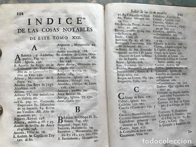 Libros antiguos: España sagrada, Theatro geopháfico-histórico,..Tomo XXII. Henrique Flórez - Foto 21 - 208042623