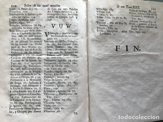 Libros antiguos: España sagrada, Theatro geopháfico-histórico,..Tomo XXII. Henrique Flórez - Foto 22 - 208042623