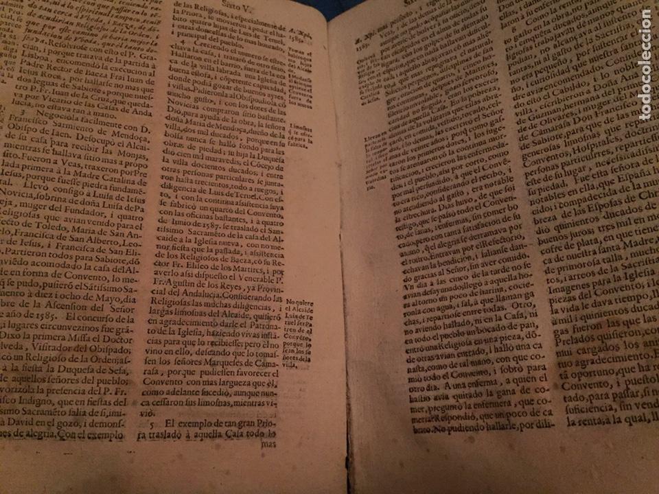 Libros antiguos: Reforma de los Descalzos. (1655) *T2* - Foto 3 - 208110550