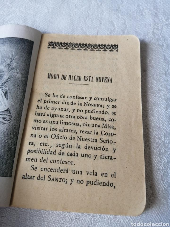Libros antiguos: NOVENA AL GLORIOSO SAN ANTONIO DE PADUA. 1923. LIBRERÍA RELIGIOSA HERNANDEZ. - Foto 4 - 208148185