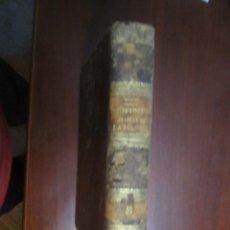 Libros antiguos: HISTORIA GENERAL DE LA IGLESIA DESDE LOS APOSTOLES HASTA GREGORIO XVI HENRION 1854 MADRID TOMO 8. Lote 208198572