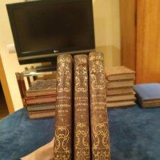 Libros antiguos: 1.859-1.860. 3 VOL. LAS BELLEZAS DE LA FE O LA VENTURA DE CREER EN JESUCRISTO - VENTURA DE RAULICA. Lote 208213073