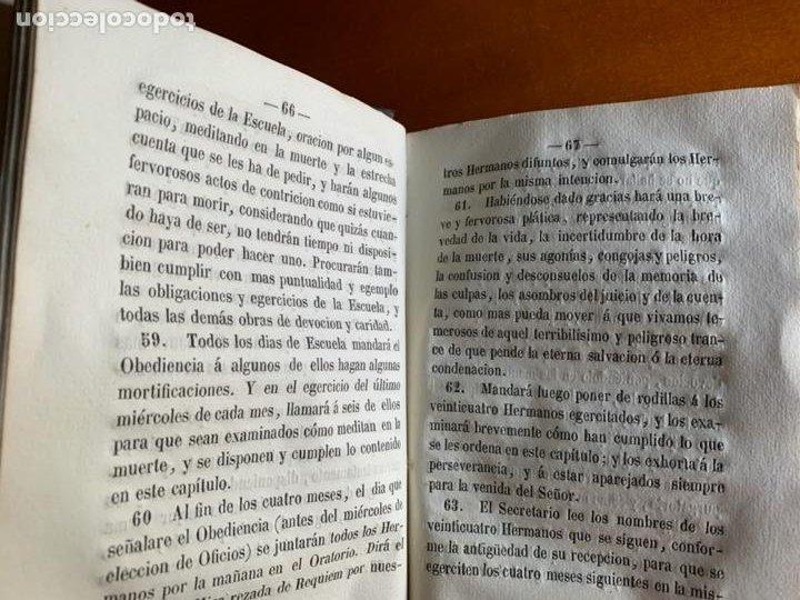 Libros antiguos: CONSTITUCIONES DE LA CONGREGACIÓN Y ESCUELA DE N. SEÑOR JESUCRISTO. 1858 VALENCIA. - Foto 5 - 208420173