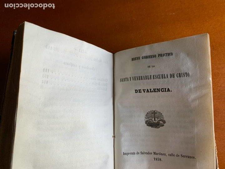 Libros antiguos: CONSTITUCIONES DE LA CONGREGACIÓN Y ESCUELA DE N. SEÑOR JESUCRISTO. 1858 VALENCIA. - Foto 6 - 208420173