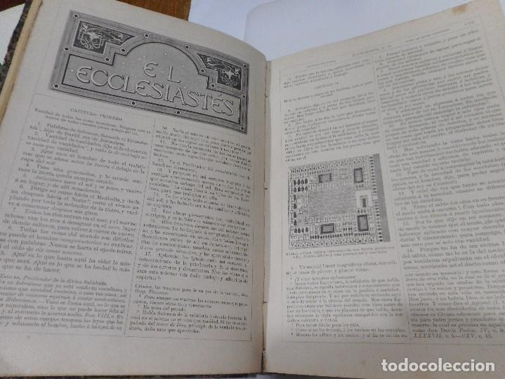 Libros antiguos: La Sagrada Biblia ( Tomo II Antiguo testamento) Q1310W - Foto 4 - 208683005