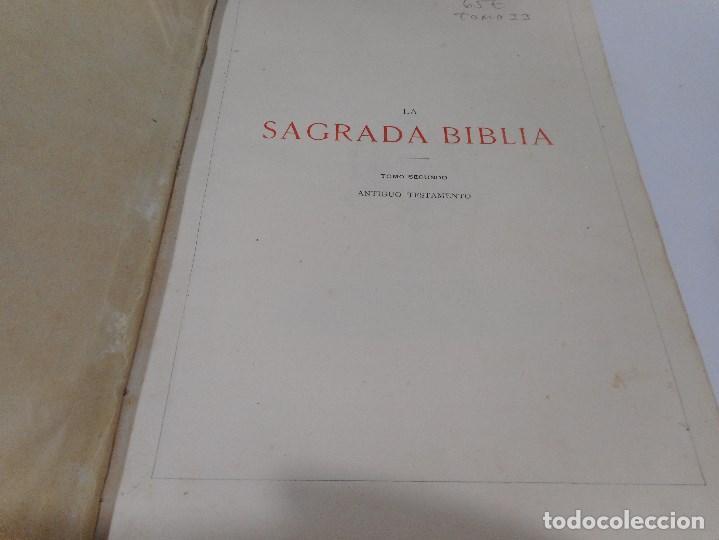 Libros antiguos: La Sagrada Biblia ( Tomo II Antiguo testamento) Q1310W - Foto 5 - 208683005
