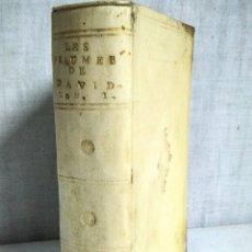 Libros antiguos: AÑO 1699,SALMOS DE DAVID, ( SIGLO XVII), EX-LIBRIS MARQUES DE LA TORRECILLA. ( STERN GRAVEUR). Lote 209067885
