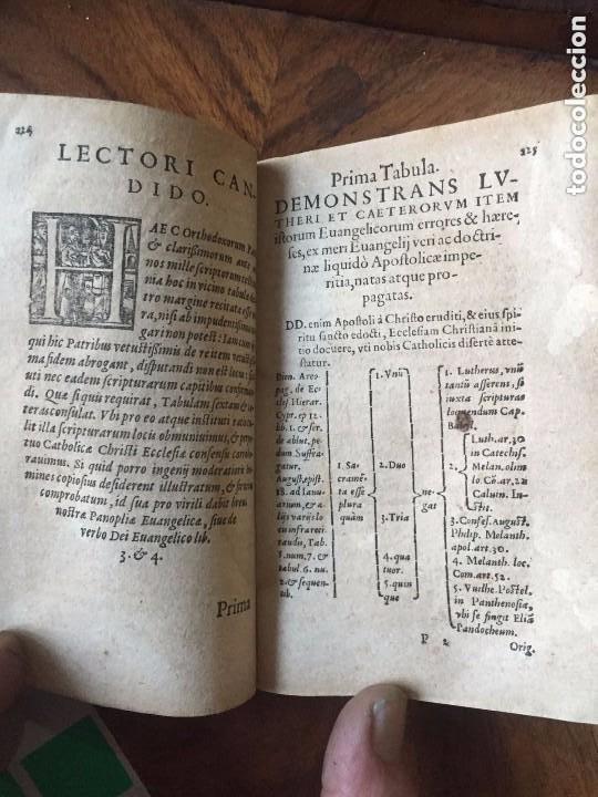Libros antiguos: 1579 - De M. Luteri (Lutero) et aliorum sectariorum doctrinae. Colonia - Foto 2 - 209218463