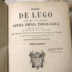 Libros antiguos: JOANNIS DE LUGO. OPERA OMNIA THEOLOGICA.. Lote 209238290