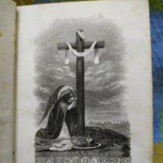 Libros antiguos: 1845. OFICIO DE LA SEMANA SANTA Y PASCUA DE RESURRECCIÓN.. Lote 209275927