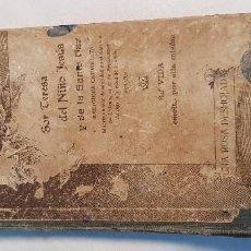 Libros antiguos: UNA ROSA DESHOJADA. SOR TERESA DEL NIÑO JESÚS Y DE LA SANTA FAZ. AÑO 1914. Lote 209848855