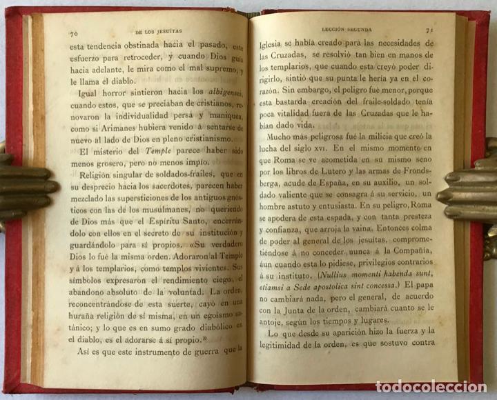 Libros antiguos: DE LOS JESUITAS. - MICHELET, J. - Foto 4 - 123218195