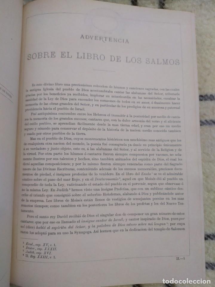 Libros antiguos: 1890. La Sagrada Biblia. Montaner y Simón. - Foto 2 - 210068360
