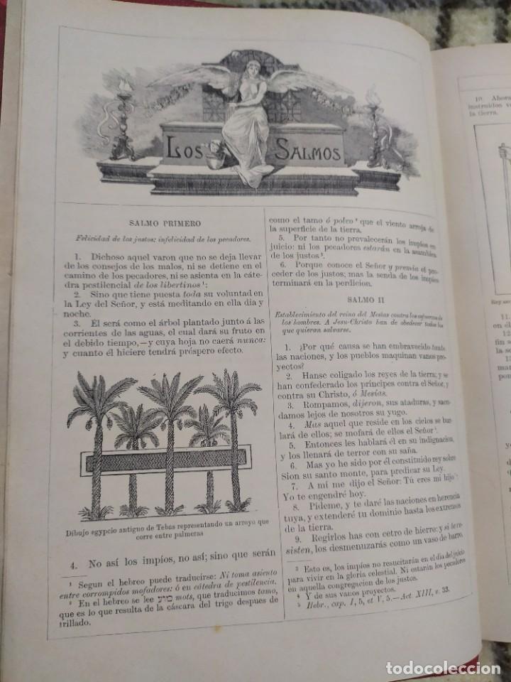 Libros antiguos: 1890. La Sagrada Biblia. Montaner y Simón. - Foto 3 - 210068360