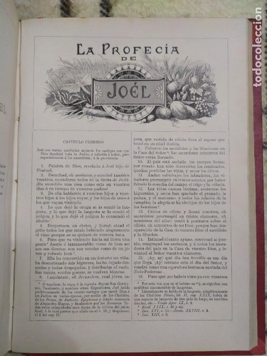 Libros antiguos: 1890. La Sagrada Biblia. Montaner y Simón. - Foto 12 - 210068360