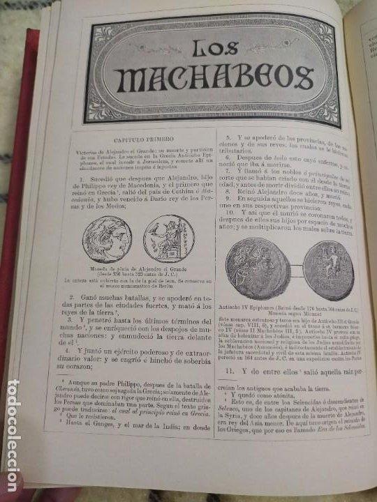 Libros antiguos: 1890. La Sagrada Biblia. Montaner y Simón. - Foto 13 - 210068360