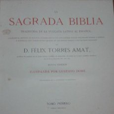 Libros antiguos: SAGRADA BIBLIA. Lote 210145271