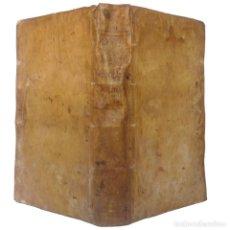 Libros antiguos: 1750 - GRAN FOLIO EN PERGAMINO - EL ANTICRISTO, FIN DEL MUNDO, JUICIO UNIVERSAL - TEOLOGÍA - 38 CM.. Lote 211402964