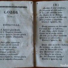 Libri antichi: NOVENA A SAN IGNACIO DE LOYOLA, SOBRE 1840.. Lote 211826357
