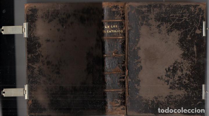 Libros antiguos: LA LUZ DEL CATÓLICO (GARNIER, PARÍS, 1994) DEVOCIONARIO LETRA GRANDE - Foto 2 - 212277707